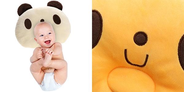 Cojín oso panda para bebés en 2 colores barato