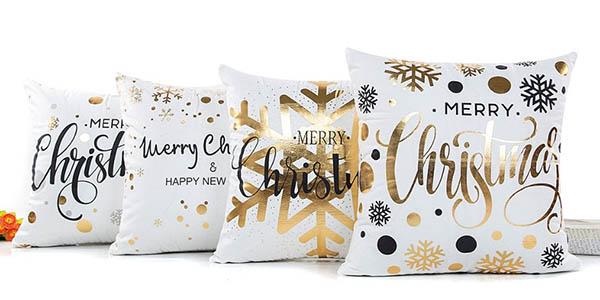 Fundas de cojines con motivos navideños