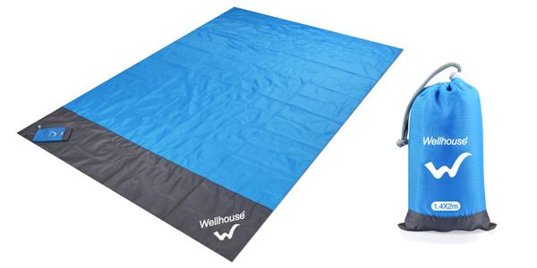 Toalla impermeable para camping chollo en Cafago