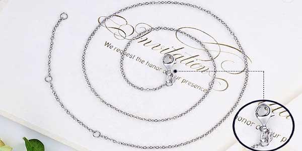 Colgante circular WOSTU con detalle de corazones de plata de ley 925 y circonitas chollo en AliExpress