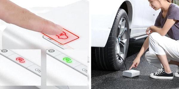 Inflador de neumáticos portátil Baseus chollo en Banggood