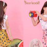 Conjunto camiseta y pantalón corto Bear Leader para niñas barato en AliExpress