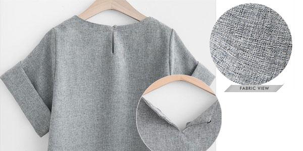 Chollazo Conjunto de blusa y pantalón corto para mujer por