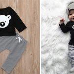 Conjunto para bebé Koala barato en AliExpress