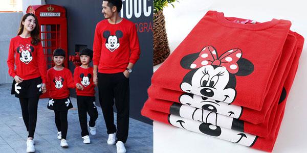 Chándal de Mickey-Minnie con modelos para toda la familia barato en AliExpress
