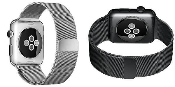 Correa estilo Milanese Loop para Apple Watch