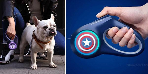 Correa para perros Xiaomi Mijia Petkit Marvel Avengers chollo en AliExpress