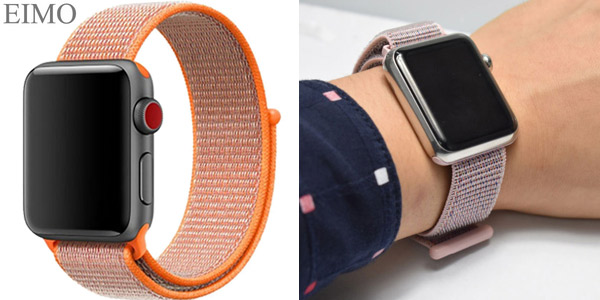 Correa tipo Loop deportiva para Apple Watch barata