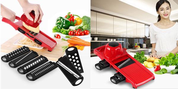 Cortador-rallador QuickDone de frutas y verduras barato
