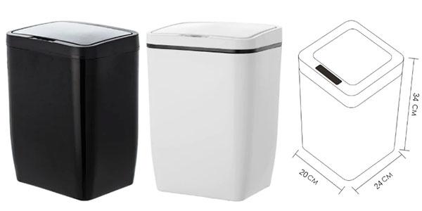 Cubo de basura con tapa automática barato