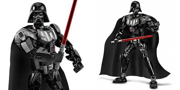 Figura Darth Vader de Star Wars estilo LEGO