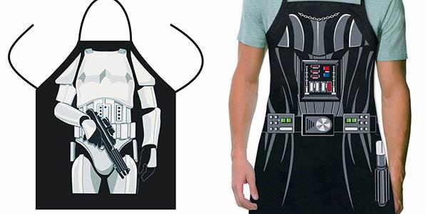 Delantal Darth Vader o Soldado Imperial