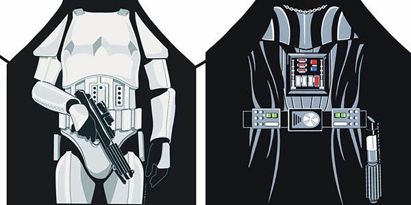 Delantal Star Wars barato