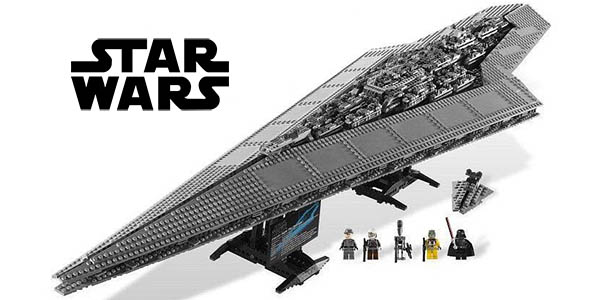 Destructor Estelar Star Wars tipo LEGO
