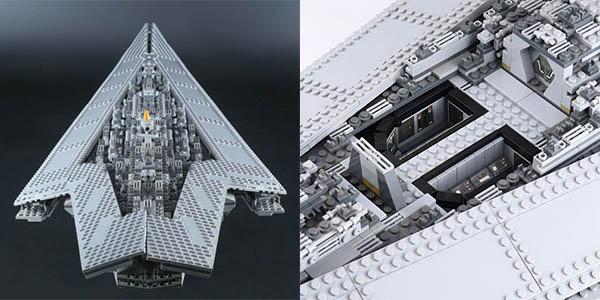 Destructor Estelar de Star Wars tipo LEGO barato