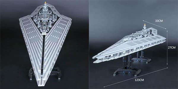 Destructor Estelar de Star Wars LEGO en AliExpress