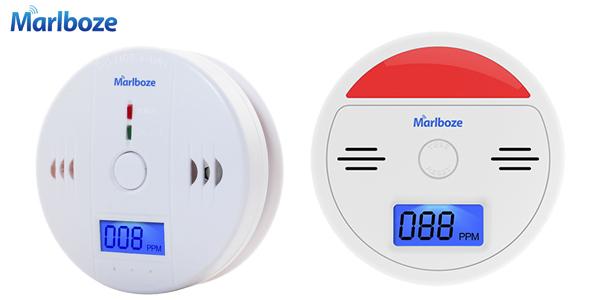 Detector de monóxido de carbono con alarma chollazo en AliExpress