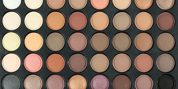 Diferentes tonalidades de sombras