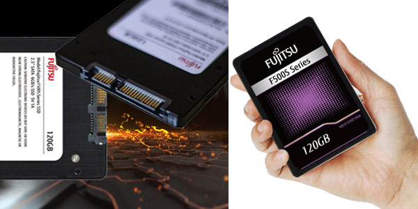 """Disco SSD de 2,5"""" FUJITSU de 120 GB chollazo en AliExpress"""