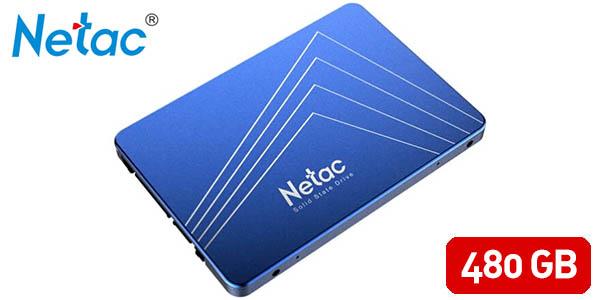 Disco SSD Netac N550S de 480 GB