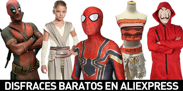 Disfraces baratos en AliExpress