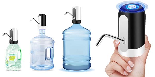 Dispensador de agua electrónico para garrafas barato en AliExpress