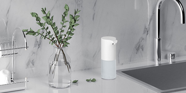 Dispensador automático Xiaomi Mijia de jabón chollo en AliExpress