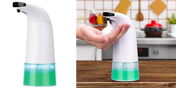Dispensador automático jabón Xiaowei Youpin barato en Banggood