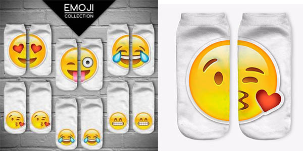 Calcetines de emoticonos baratos
