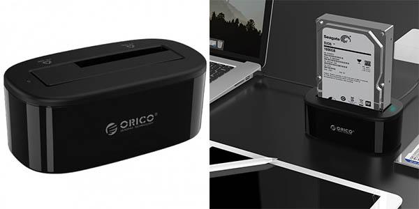 Dock Orico USB 3.0 para discos duros de 2,5'' y 3,5''