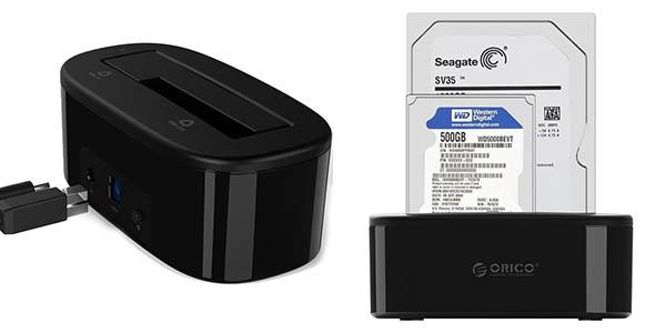Dock Orico USB 3.0 para discos duros barato