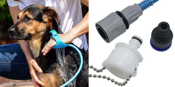 Ducha para perros Meangood con pulverizador-manopla chollazo en AliExpress
