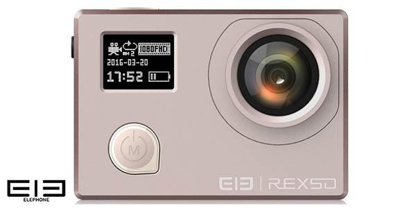 Cámara deportiva Elephone REXSO Explorer Dual 4K