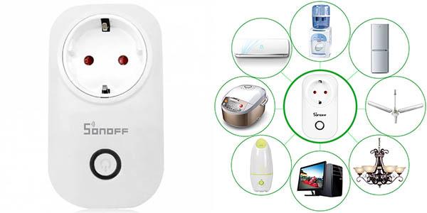 Enchufe inteligente SONOFF S20 WiFi
