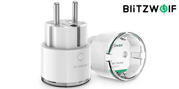 Enchufe inteligente BlitzWolf BW-SHP6 compatible con Alexa