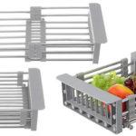Escurridor de frutas y verduras para fregadero barato en BangGood