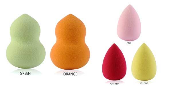 Pack 10 esponjas Maange de maquillaje chollazo en AliExpress
