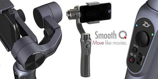 Estabilizador Zhiyun Smooth Q para smartphone barato