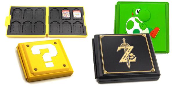 Caja para juegos de Nintendo Switch chollo en AliExpress