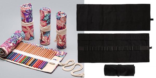 Estuche enrollable para lapiceros (no incluye colores) chollazo en AliExpress