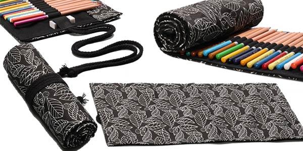 Estuche enrollable para lapiceros (no incluye colores) barato en AliExpress