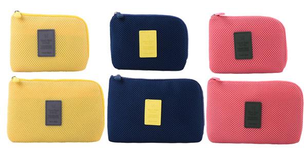 Mini bolsa acolchada para dispositivos eléctrónicos y cables barata en AliExpress