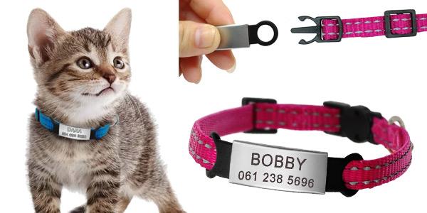 Chapa identificativa para el collar de las mascotas barata en AliExpress