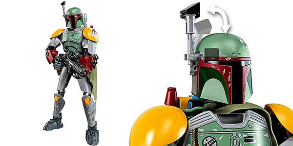 Figura Boba Fett de Star Wars estilo LEGO en Rosegal