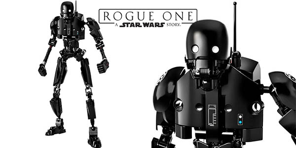 Figura K-2SO de Star Wars Rogue One estilo LEGO