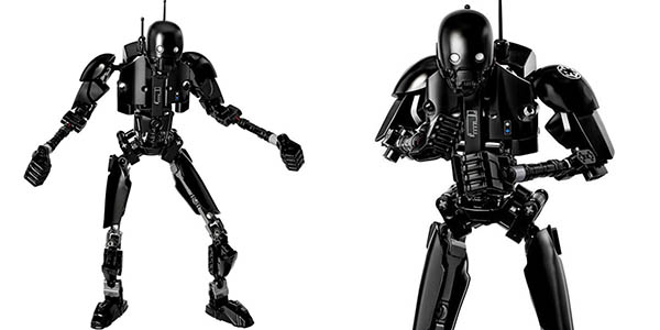 Figura K-2SO de Star Wars Rogue One tipo LEGO en Rosegal