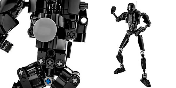 Figura K-2SO de Star Wars Rogue One tipo LEGO barata