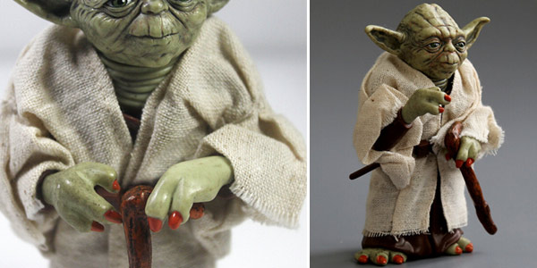 Figura Maestro Yoda de Star Wars de 12 cm chollo en AliExpress