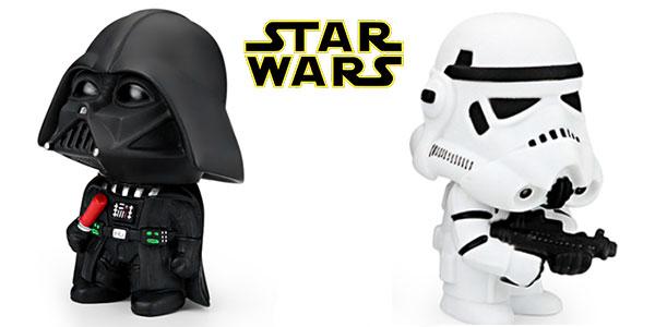 Figuras de Darth Vader y soldado imperial en miniatura rebajadas