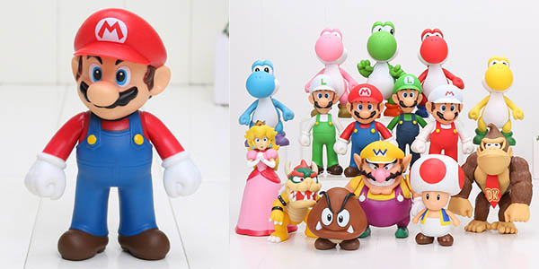 Figuras de personajes Nintendo baratas